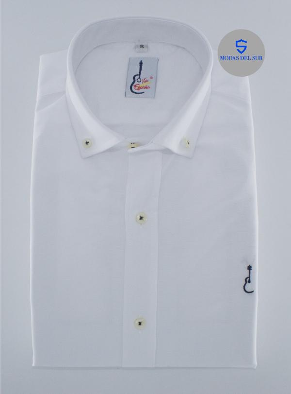 camisa blanca de la marca viva España