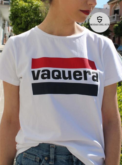 camiseta de a la vaquera