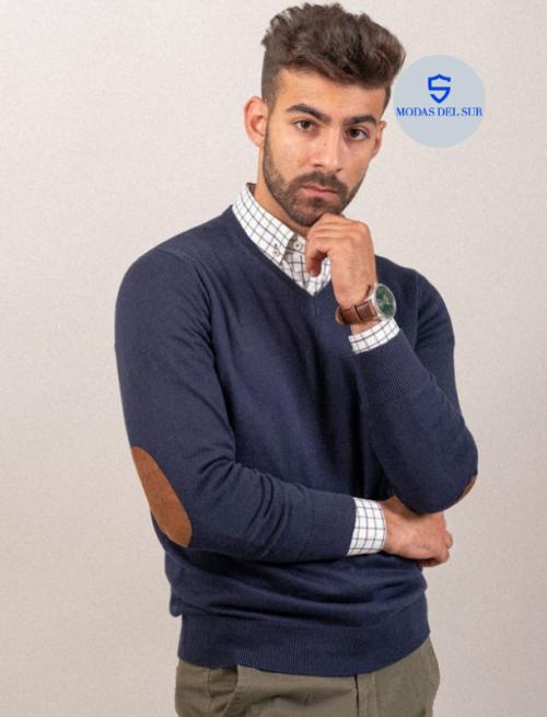 jersey de pico la azul marino la garrocha