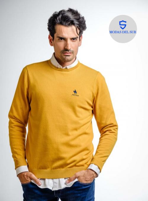 jersey básico,color amarillo