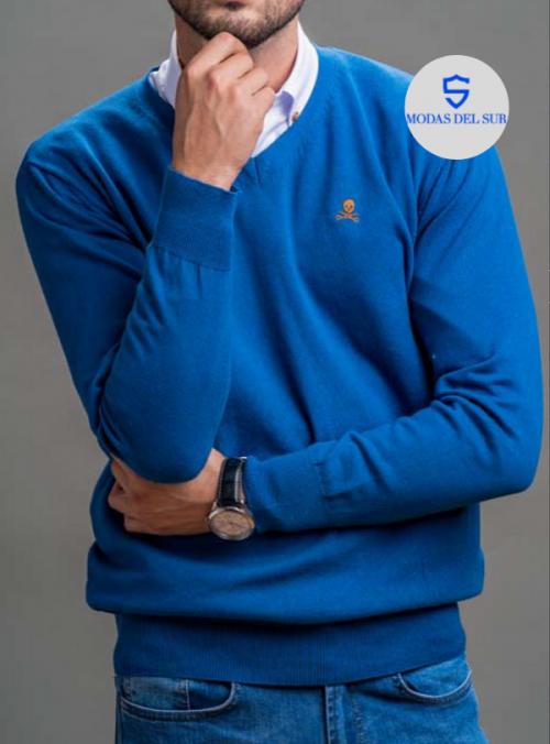 jersey de pico azul chillón bones