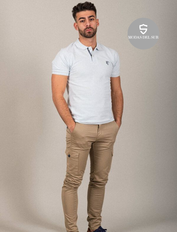 polo oxford pastel
